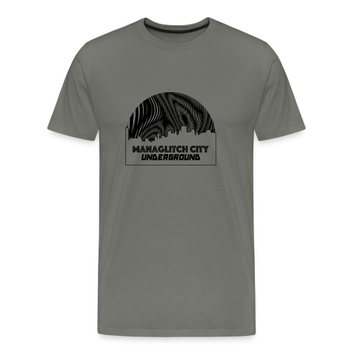 Managlitch Moire - Men's Premium T-Shirt
