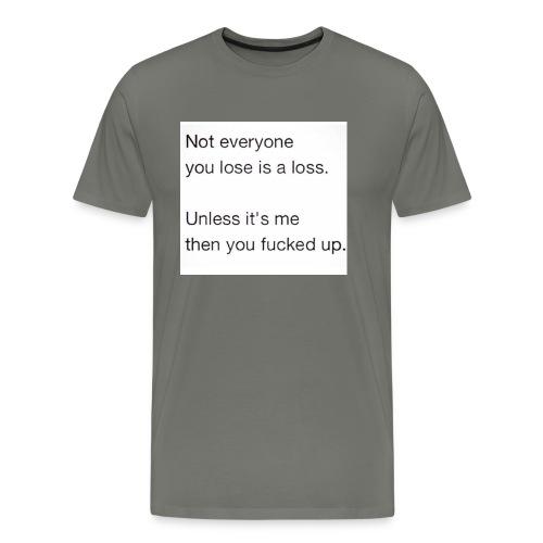 Getting Over - Men's Premium T-Shirt