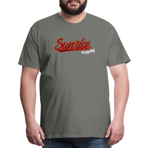 Sunrise Roleplay Logo (White) - Men's Premium T-Shirt
