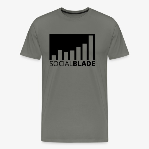 SB Blackout Logo - Men's Premium T-Shirt
