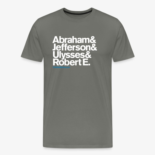 CIVIL WAR LEADERS - Men's Premium T-Shirt