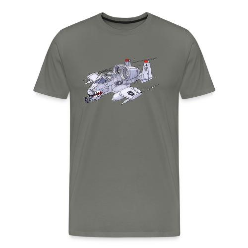 Randy In an A-10 - Men's Premium T-Shirt