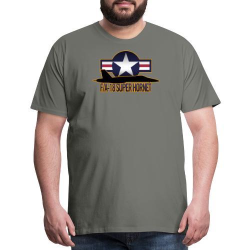 F/A-18 Super Hornet - Men's Premium T-Shirt