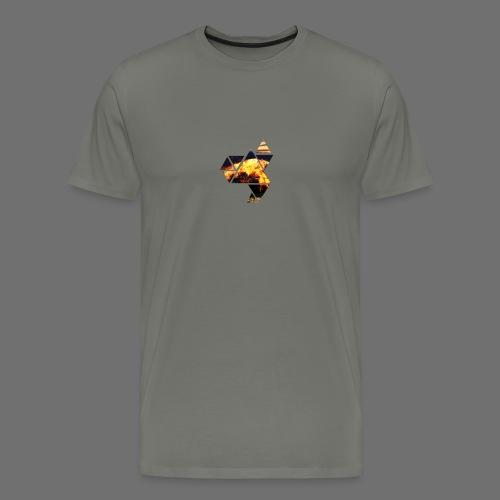 Abstract Phoenix - Men's Premium T-Shirt