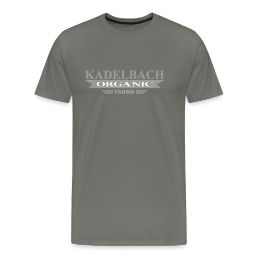 KOF Logo Gray - Men's Premium T-Shirt