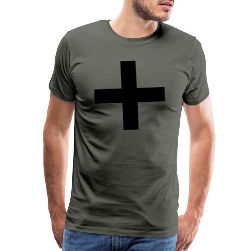 Plus Brandmark Black - Men's Premium T-Shirt