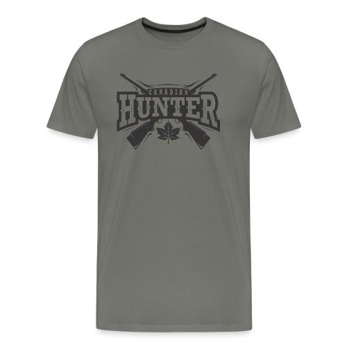 Canadian Hunter - Men's Premium T-Shirt