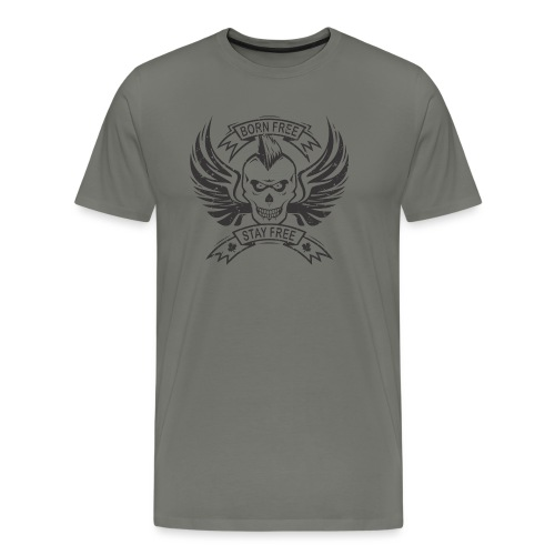 Born Free Stay Free - Men's Premium T-Shirt