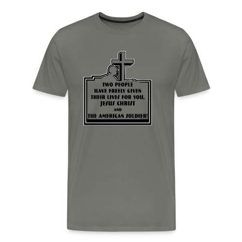 TWO PEOPLE - Men's Premium T-Shirt