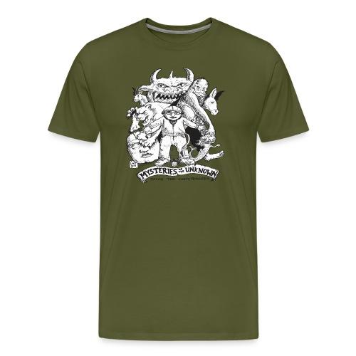 mysteriesfinal png - Men's Premium T-Shirt