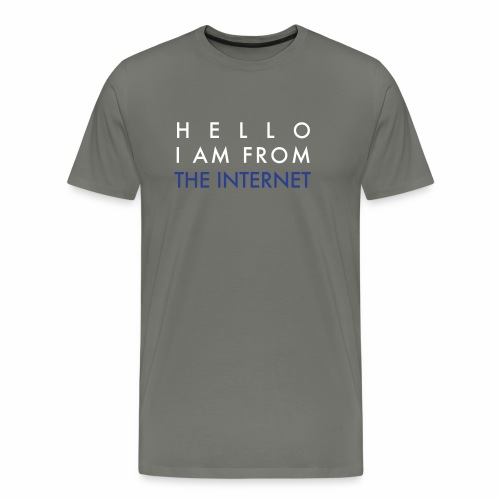 From The Internet - Men's Premium T-Shirt