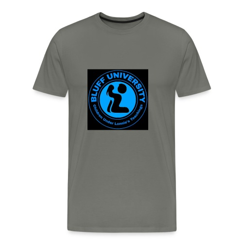 BLUFF Black & Blue - Men's Premium T-Shirt
