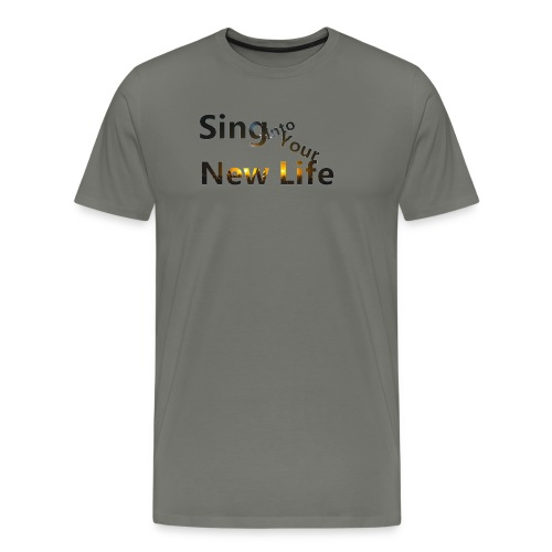 Sing in Brown - Men's Premium T-Shirt