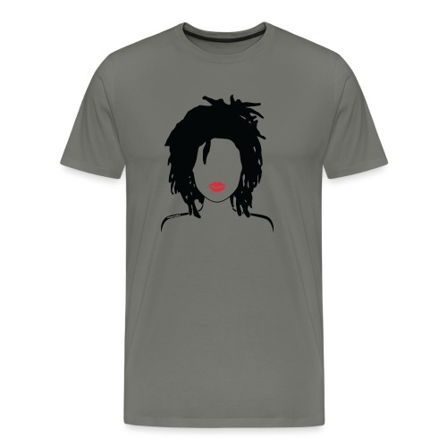 Locs & Lipstick_Global Couture Women's T-Shirts - Men's Premium T-Shirt