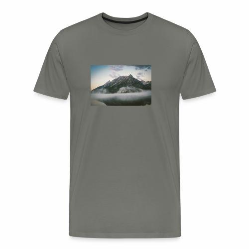 mountain view - Men's Premium T-Shirt