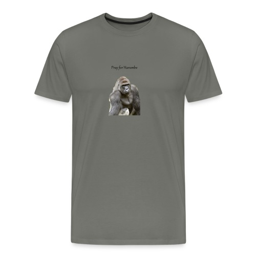 Pray for Harambe - Men's Premium T-Shirt