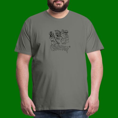 SickBoys Zombie - Men's Premium T-Shirt