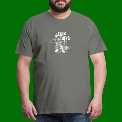 Sick Boys Puke Punk - Men's Premium T-Shirt