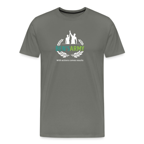 BensArmy Final Logo Reversed png - Men's Premium T-Shirt