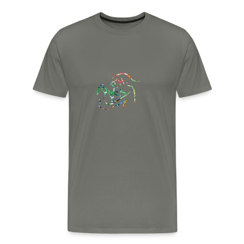 Flower Signature Black - Men's Premium T-Shirt