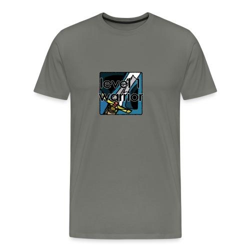 Warcraft Baby: Level 1 Warrior - Men's Premium T-Shirt