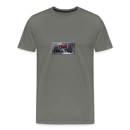 FDR Logging Main Logo - Men's Premium T-Shirt