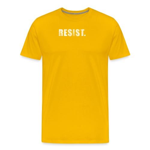 RESIST. - Men's Premium T-Shirt