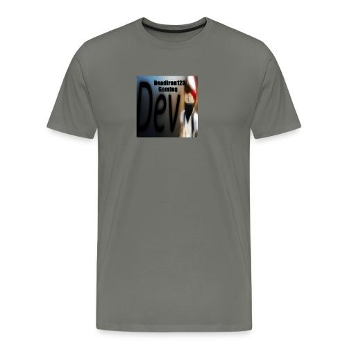 Deadiron123 Gaming Dev Phone case. - Men's Premium T-Shirt
