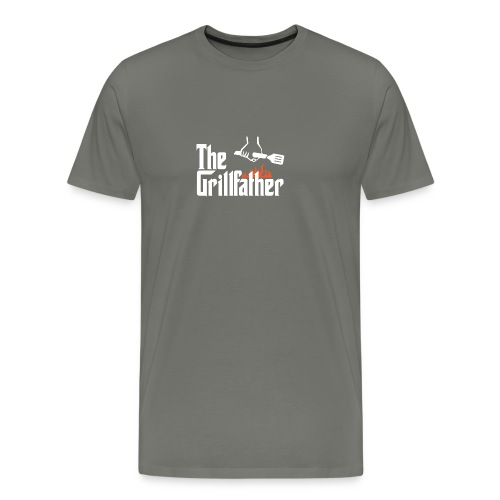 The Grillfather - Men's Premium T-Shirt