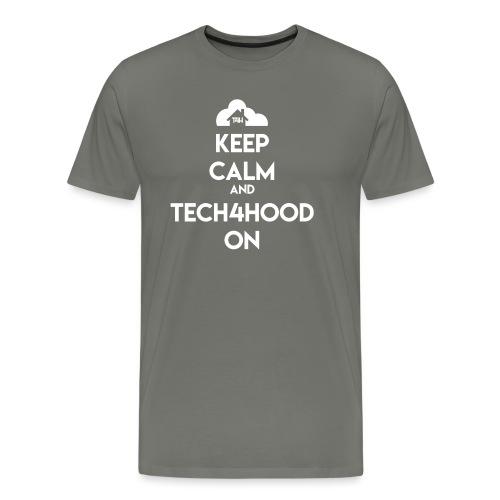t4h_tech4hood_on - Men's Premium T-Shirt
