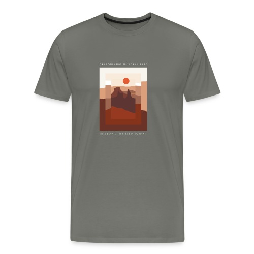Canyonlands Perspectives Shirt - Men's Premium T-Shirt