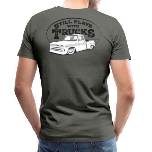 64 66BaggedC10Step BLK - Men's Premium T-Shirt