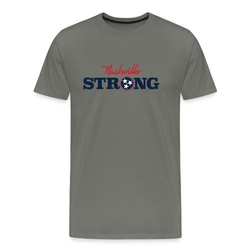 Nashville Strong Tornado Relief Effort - Men's Premium T-Shirt