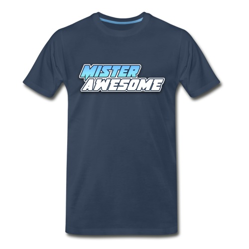 Mister Awesome logo - Men's Premium T-Shirt