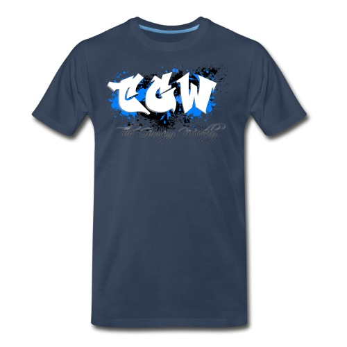 TGW Black and blue edition - Men's Premium T-Shirt