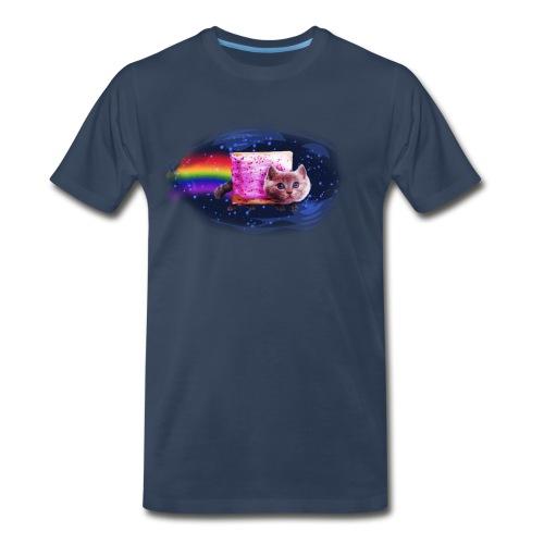 Space Cat - Men's Premium T-Shirt