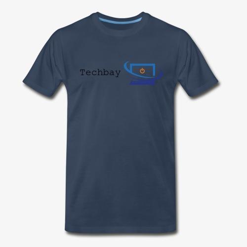 Techbay full logo - Men's Premium T-Shirt