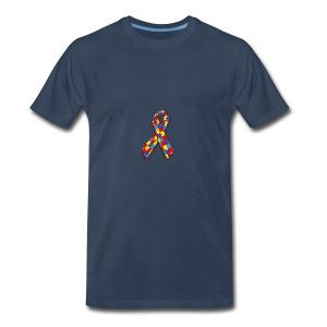 Ruban Asperger - T-shirt premium pour hommes