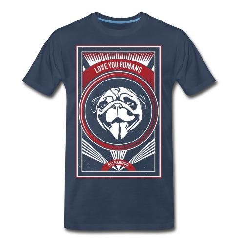 Cool Pug - Men's Premium T-Shirt