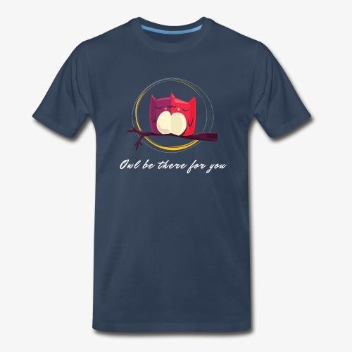 Owls Date - Men's Premium T-Shirt