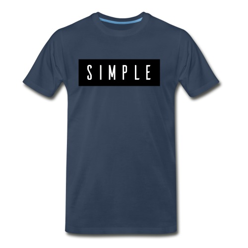 Simple - Men's Premium T-Shirt