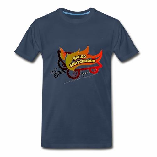 speed skateboard - Men's Premium T-Shirt