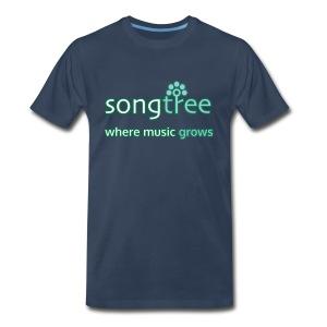 Songtree Logo - Men's Premium T-Shirt