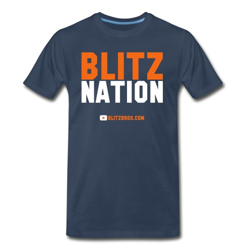BLITZ NATION - MENS - Men's Premium T-Shirt