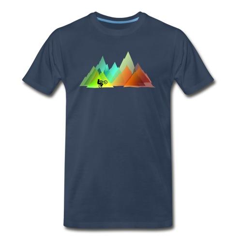 Mtb Colors - Men's Premium T-Shirt