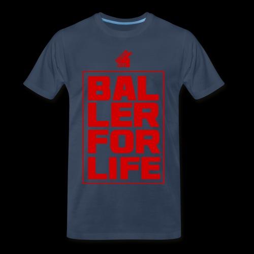 B4L Stacked - Men's Premium T-Shirt