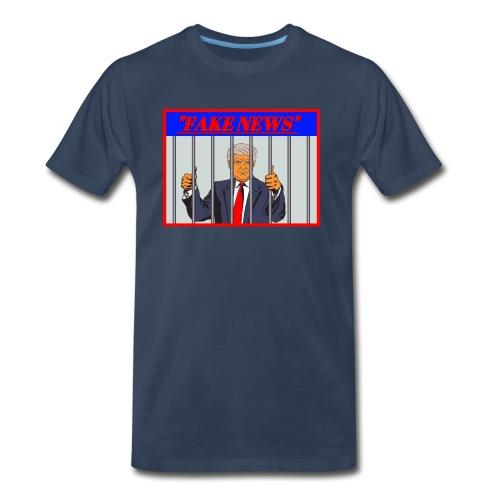 Fake News By Donald Trump - Men's Premium T-Shirt