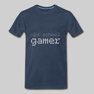 Old School Gamer - Men's Premium T-Shirt