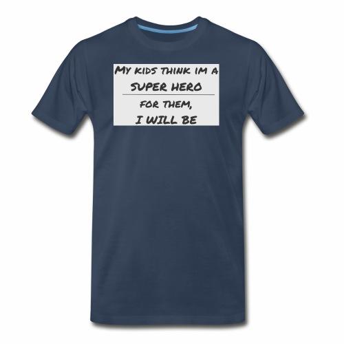 super hero dad 2 - Men's Premium T-Shirt