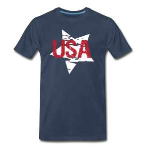 USA! - A stylish 4th July collection - Men's Premium T-Shirt